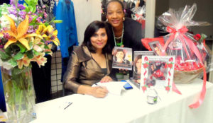 "Book signing at ""Women of Color"" event!"